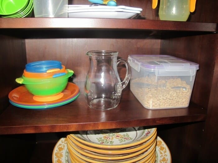 Project Montessori at Home: Our Transformation: Breakfast