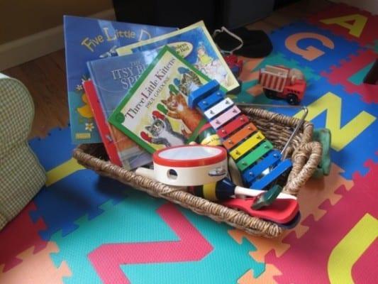 DIY Montessori Toys for Kids - Music Basket