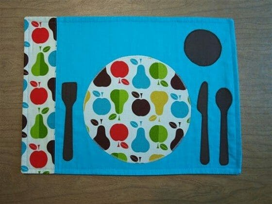 Project Montessori at Home – Our Transformation: The Placemat