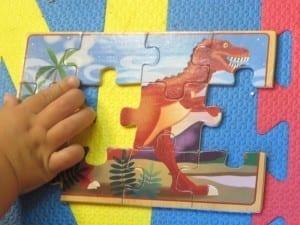 dino puzzle ii