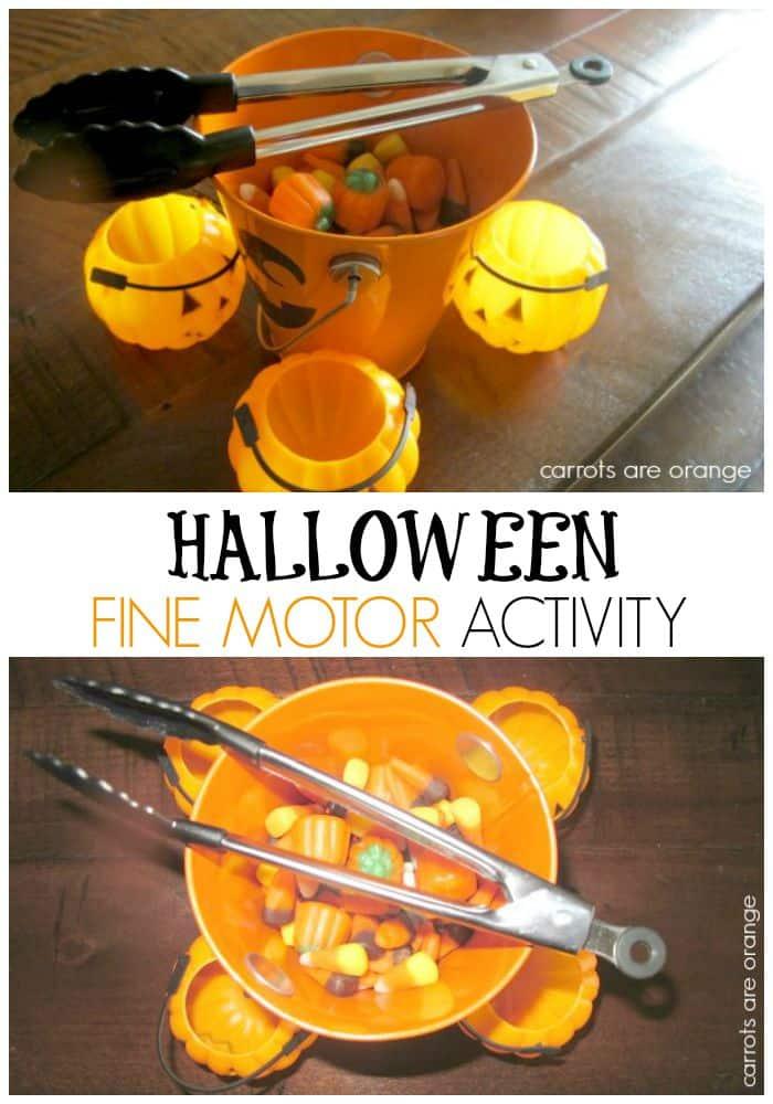 Halloween Fine Motor Activity