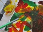 Resist Painting – Toddler & Preschool Activity