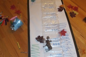 Bubble Wrap Toddler Activity
