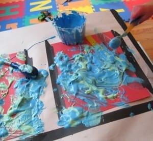 Having Fun At Home Liquid Glue Ideas