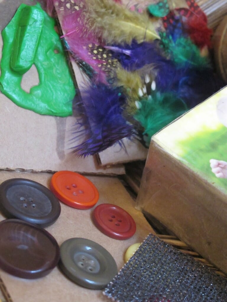Toddler & Preschool Texture and Sound Basket