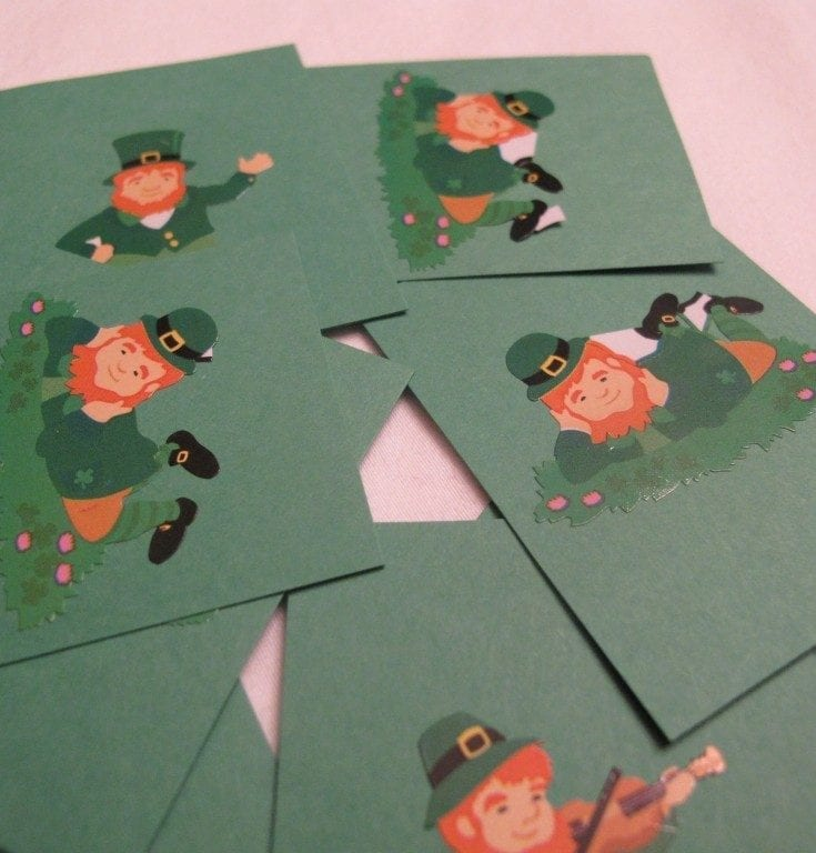 St. Patrick's Day Matching & Sorting Activity