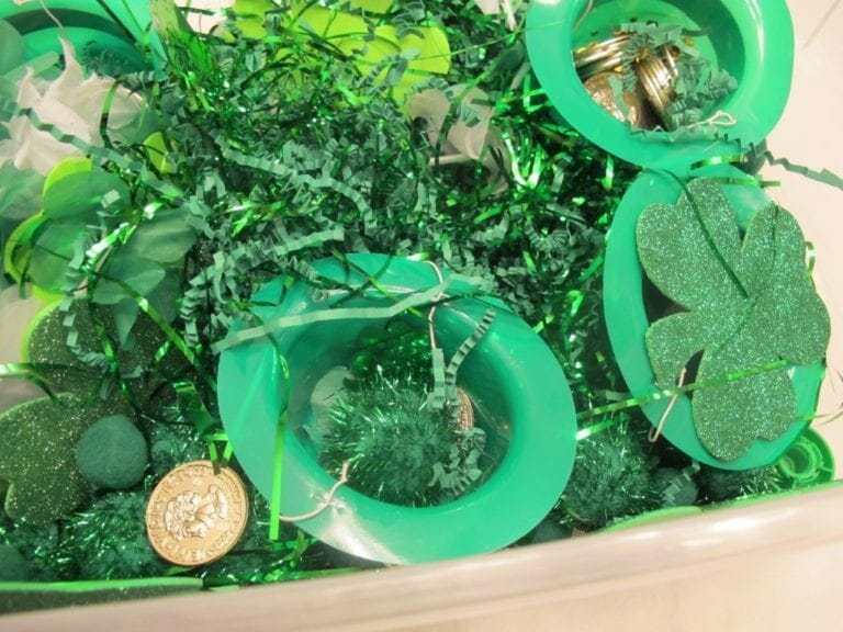 St. Patrick's Day Sensory Activity for Toddlers & Preschoolers