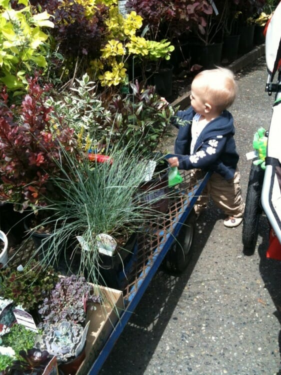 spring activities Gardening with Kids