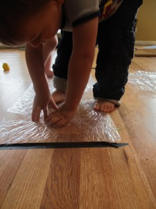 Bubble Wrap Montessori Movement