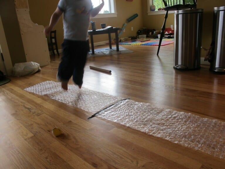 Bubble Wrap Montessori Movement