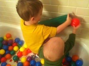 photo96 300x224 DIY Ball Ramp Activity