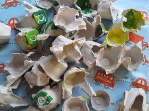 Egg Carton Earth Day Craft