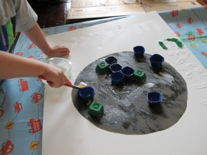 Egg Carton Earth Day Craft