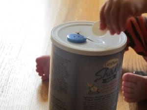 Simple Fine Motor Skills Recycled Materials