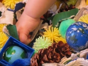 Earth Day Sensory Tub