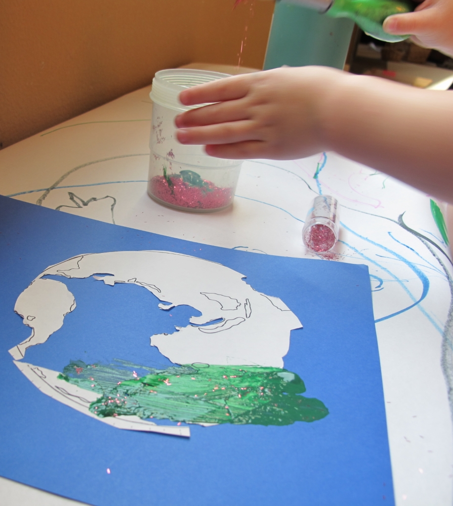Montessori art activities continent studies montessori art for continent studies gumiabroncs Image collections