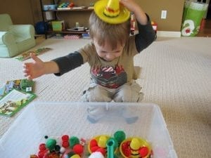 Cinco de Mayo Sensory Tub Hat