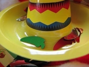 Cinco De Mayo Sensory Tub Mini Sombreros