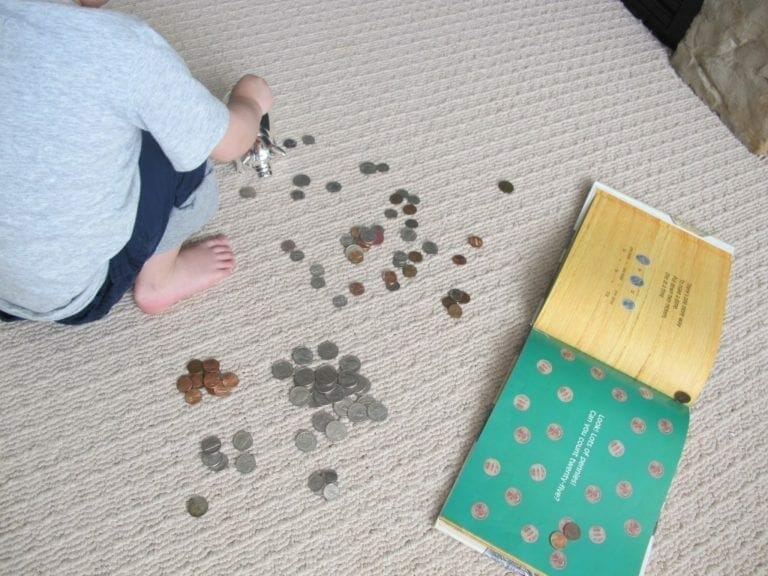 How to Teach Kids About Money Coin Counting Book