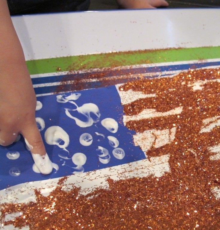Memorial Day Preschool Activity {American Flag}