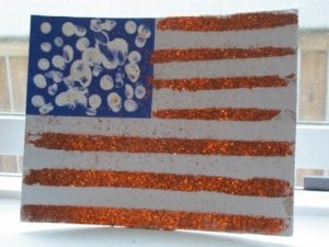 American Flag Memorial Day Preschool Activity