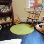 Montessori In the Home {Play & Learning Space}