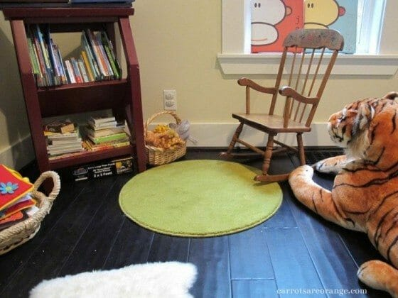 montessori play space learning at home