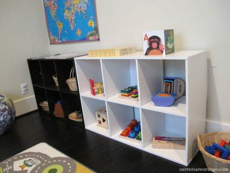 montessori place space at home