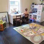 Montessori learning space at home