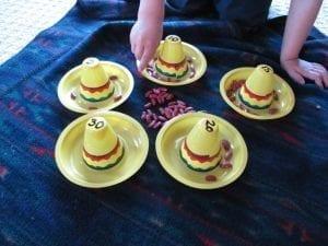 Simple Preschool Activity Bean Counting 1