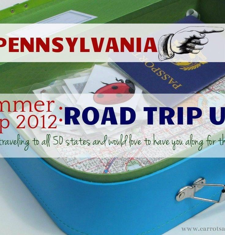 A Virtual Road Trip {Pennsylvania Materials}