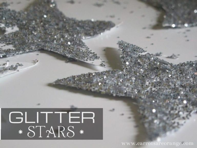 Make Glitter Stars with Ki