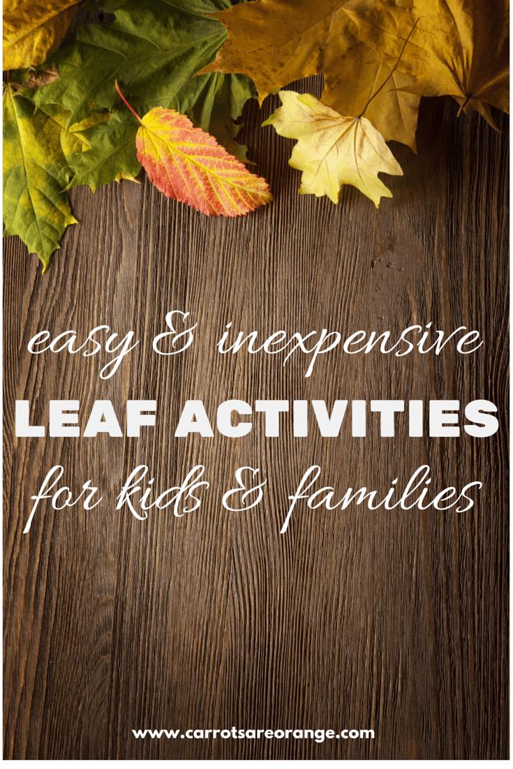 leaf activities