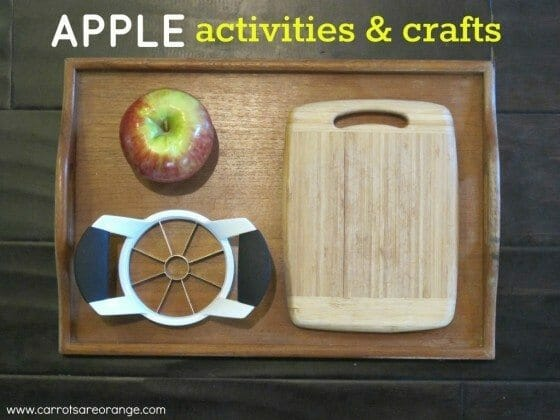 montessori apple activities