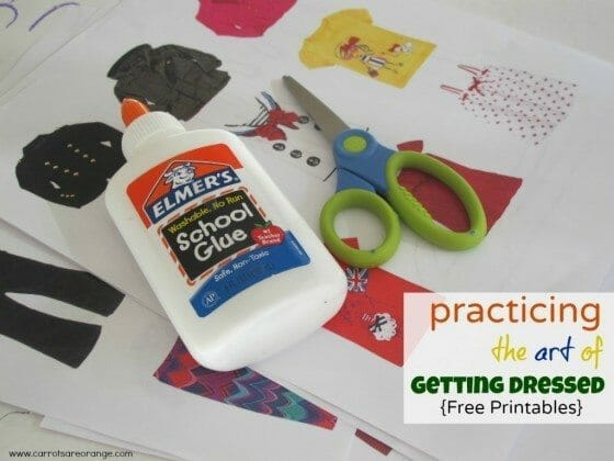 gettingdressedactivity e1346613422589 Getting Dressed Activity {Free Printables}