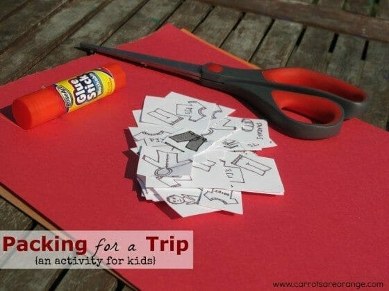 Packing Trip Kids Activity