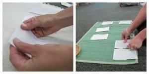 fabrics2 300x150 Montessori Sensorial: Fabric Basket