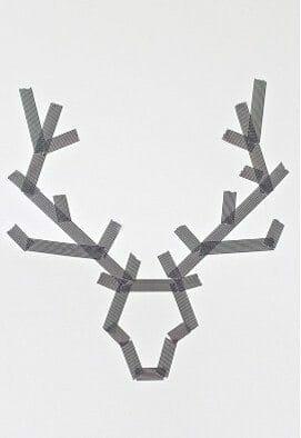 Masking Tape Reindeer