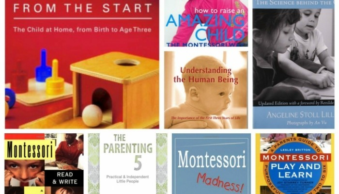 My Top Pick for Montessori Books for Parents