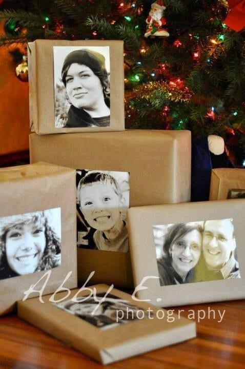 Photo Christmas Tags