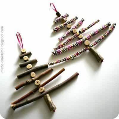 Twig Ornament