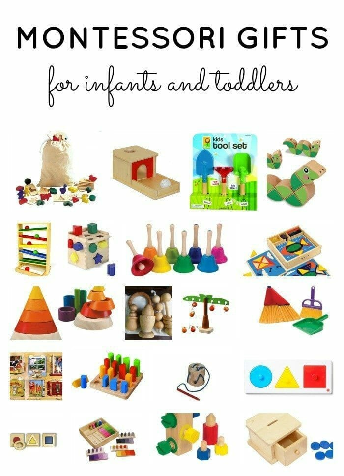 Montessori Gifts for Infants & Toddlers