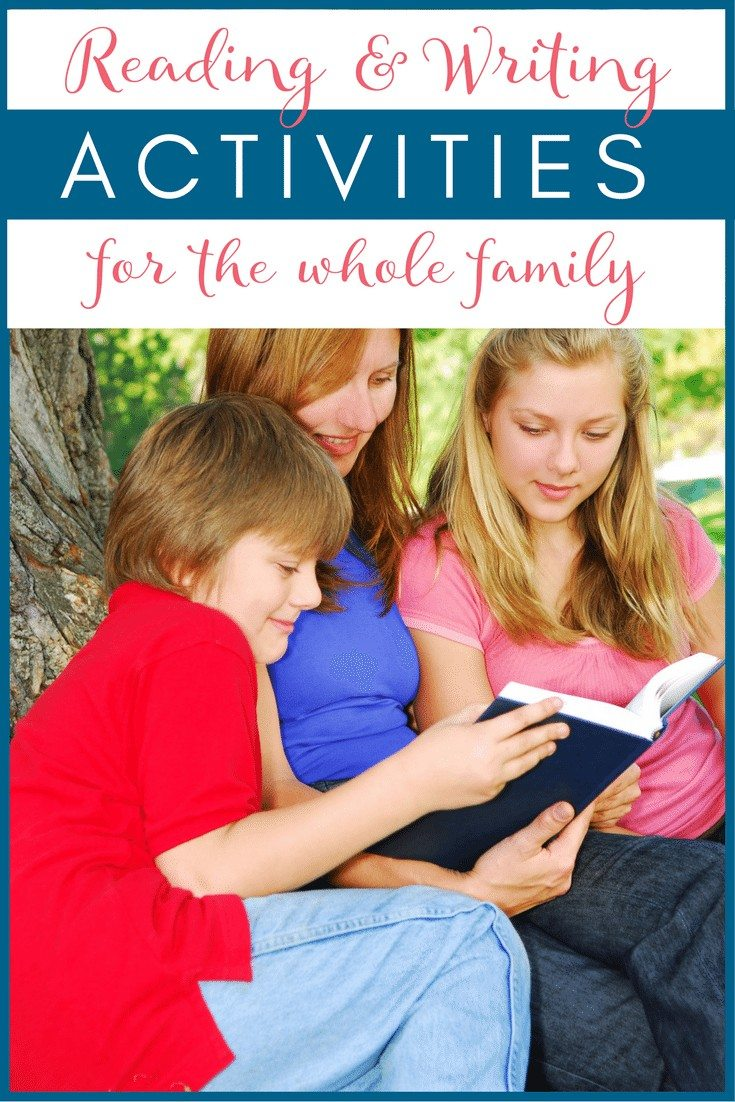 How to Make Reading & Writing a Fun & Engaging Family Activity