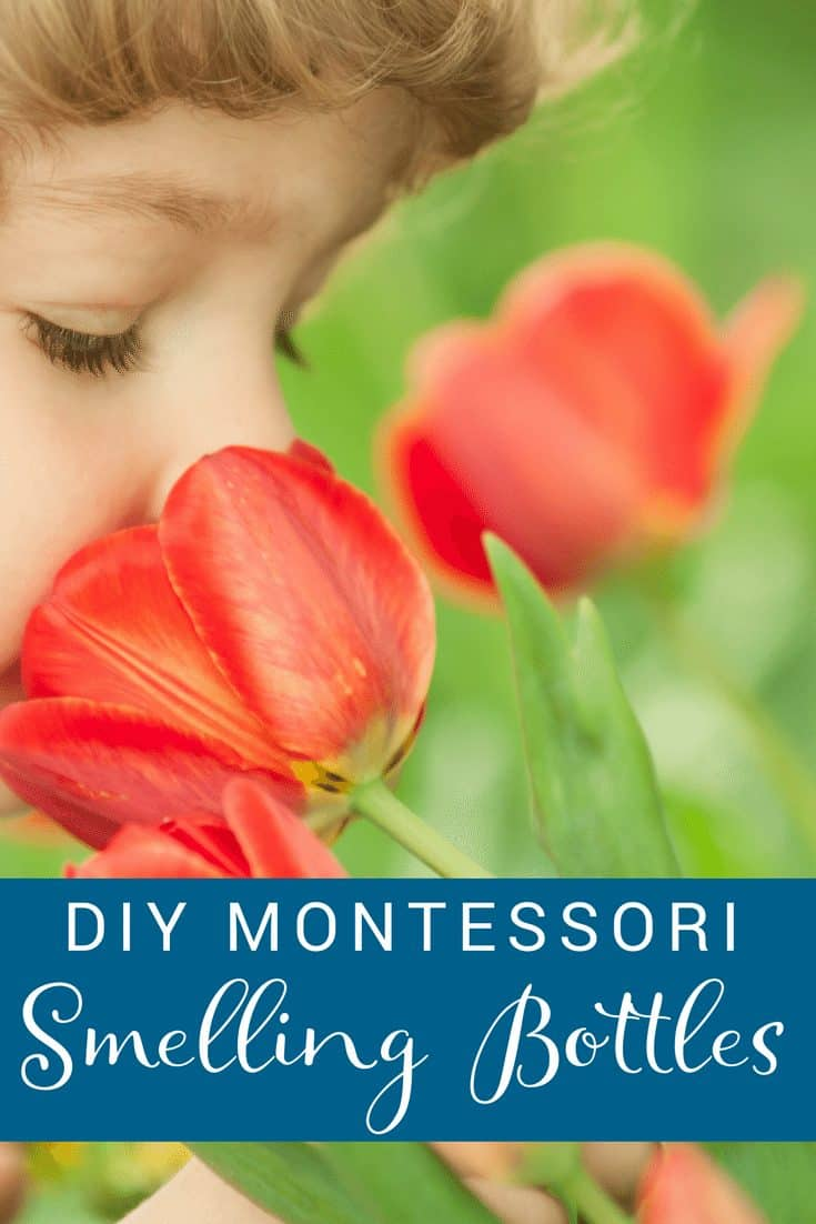 DIY Montessori Smelling Bottles - make your own smelling bottles using a few simple household items