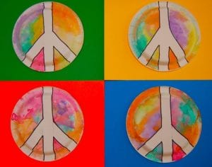 peacesigninnerchildfunmlk 300x236 The Best Martin Luther King Jr. Crafts for Kids