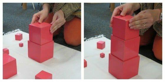 Montessori Sensorial: Pink Tower
