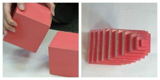 Pink Tower Montessori Lesson