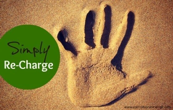 simple ways to recharge as a parent