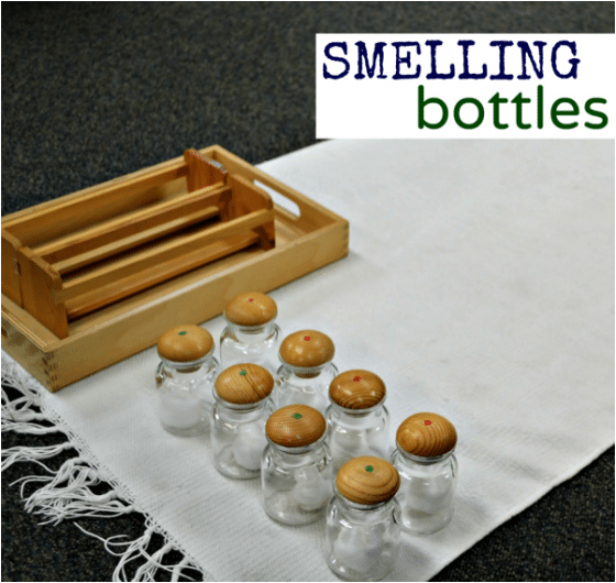 Montessori Sensorial: Smelling Bottles