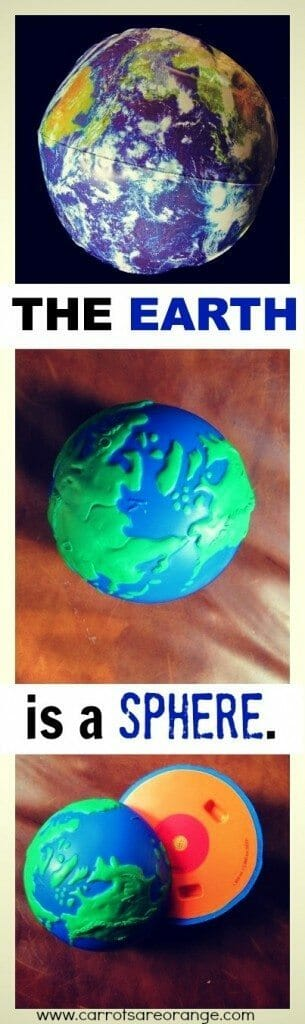 montessori geography sphere